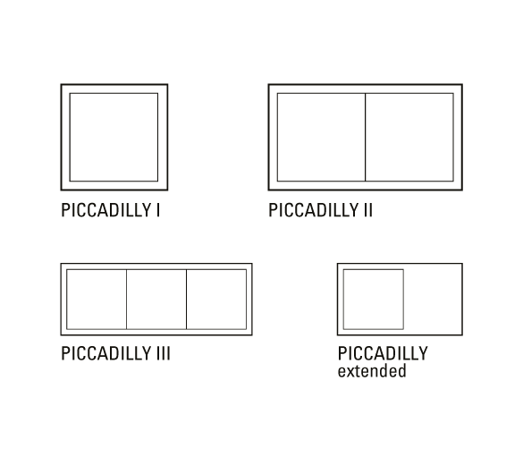 Layout Piccadilly Solutions